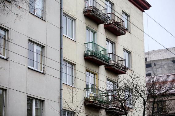 Eriko Ovčarenko / 15min nuotr./Kauno centro balkonai