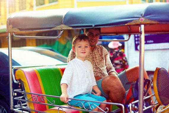 123rf.com /Kelionė su vaiku