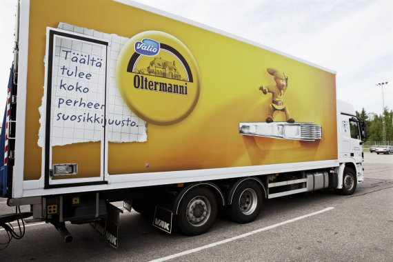 """""""Valio"""" nuotr./Suomijos pieno perdirbimo įmonė """"Valio"""""""