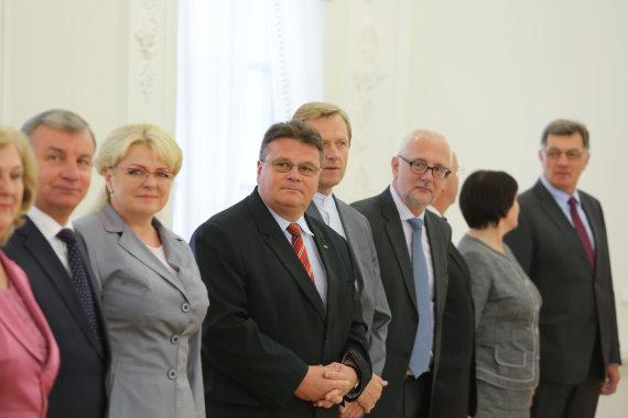 Juliaus Kalinsko/15min.lt nuotr./Prezidentūroje