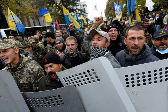 "AFP/""Scanpix"" nuotr./Protestas Kijeve"