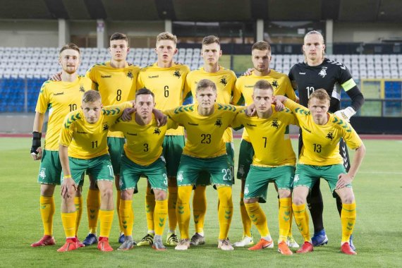 FSGC/Pruccoli nuotr./Lietuvos U-21 futbolo rinktinė