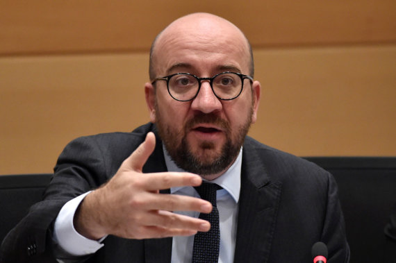 """Reuters""/""Scanpix"" nuotr./Belgijos premjeras Charlesas Michelis"
