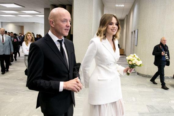 Juliaus Kalinsko / 15min nuotr./Ramūno Rudoko ir Justinos Žeimytės vestuvės