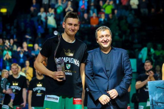 Vidmanto Balkūno / 15min nuotr./Edgaras Ulanovas ir Antanas Guoga