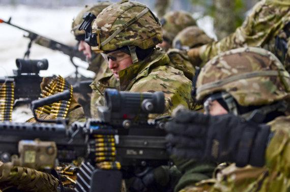 """""""Scanpix""""/""""Sipa USA"""" nuotr./JAV kariai Estijoje"""