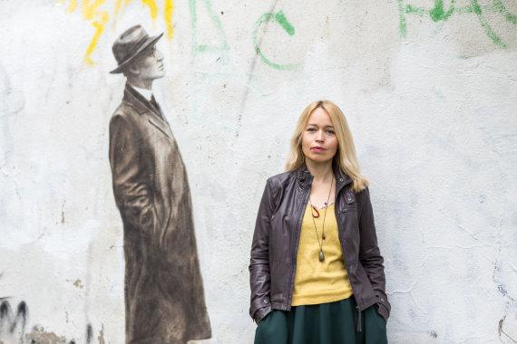 """Remio Ščerbausko nuotr. /Daiva Citvarienė, """"Kaunas 2022"""" programos """"Atminties biuras"""" kuratorė"""