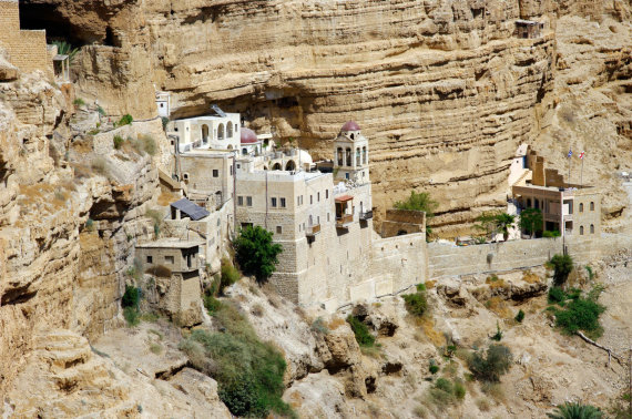123rf.com nuotr./Šv. Jurgio ortodoksų vienuolynas, Palestinos teritorija, Izraelis