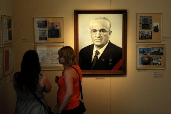 """AFP/""""Scanpix"""" nuotr./Paroda apie Jurijų Andropovą"""