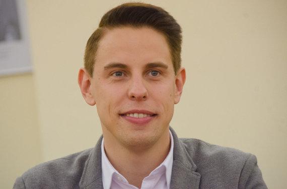 """KTU archyvo nuotr./""""Google"""" rinkodaros vadovas Baltijos šalims Regimantas Urbanas"""