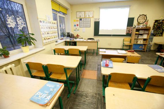 Eriko Ovčarenko/15min.lt nuotr./Streikas mokykloje
