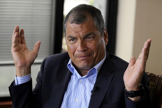 """AFP/""""Scanpix"""" nuotr./Rafaelis Correa"""