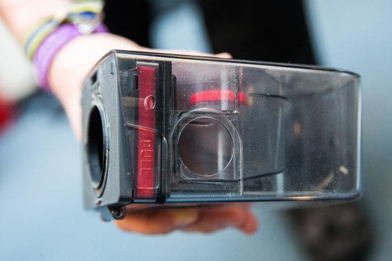 """Luko Balandžio / 15min nuotr./""""Samsung Powerbot VR7000"""""""