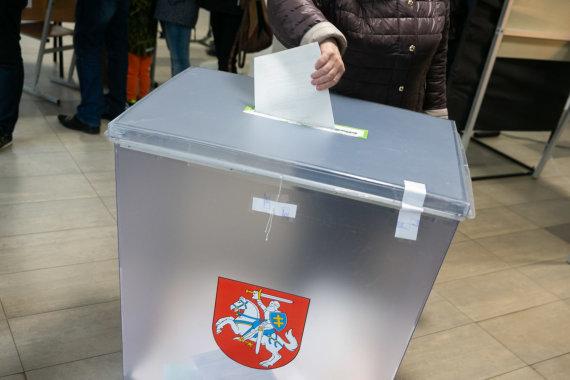 Žygimanto Gedvilos / 15min nuotr./Balsavimas Lietuvoje