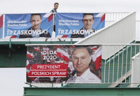 """""""Scanpix""""/AP nuotr./Lenkijos prezidento rinkimai"""