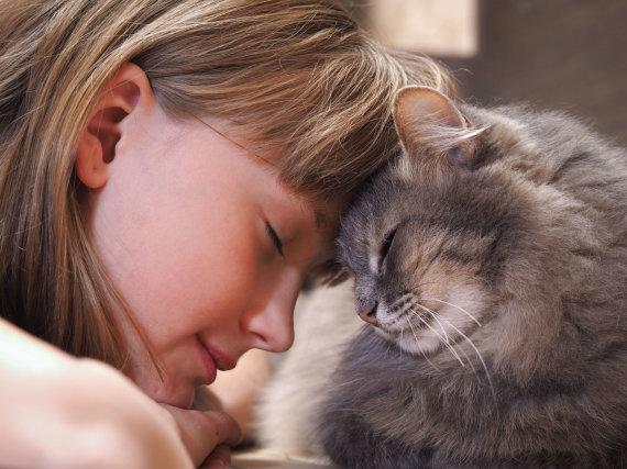 123RF.com nuotr./Mergaitė su kate