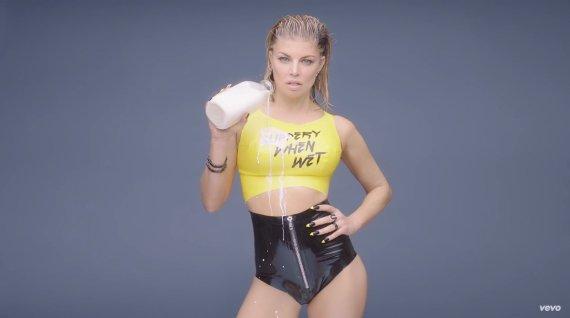 "Video kadras/Fergie vaizdo klipe""M.I.L.F.$"""