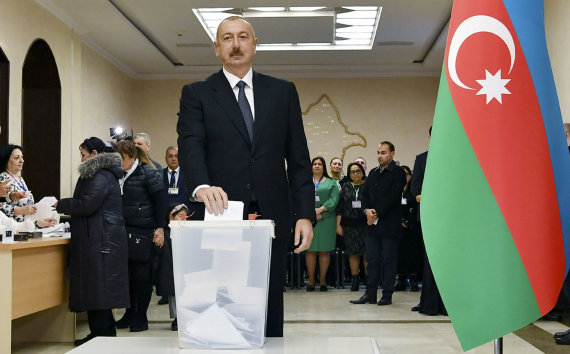 """Scanpix""/AP nuotr./Ilhamas Alijevas"