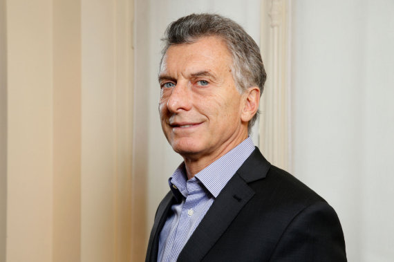 "AFP/""Scanpix"" nuotr./Mauricio Macri"