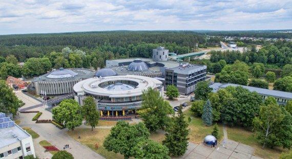 Druskininkų miesto savivaldybės nuotr./Druskininkų vandens pramogų parkas