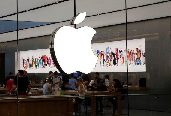 """""""Reuters""""/""""Scanpix"""" nuotr./""""Apple"""" logotipas"""