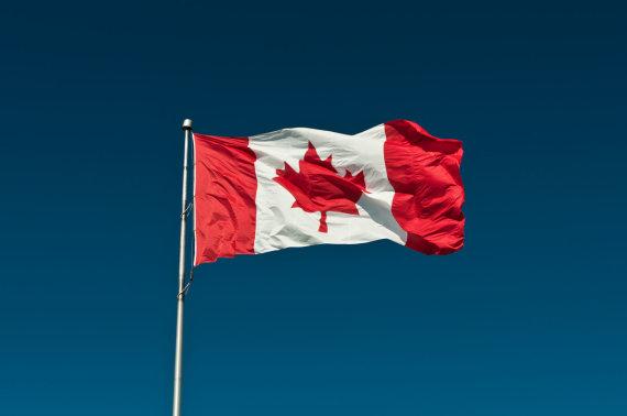 """Scanpix"" nuotr./Kanados vėliava"