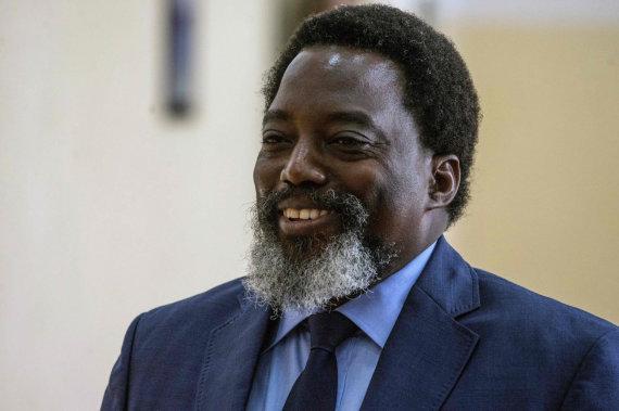 """AFP/""""Scanpix"""" nuotr./Kongo Demokratinės Respublikos prezidentas Josephas Kabila"""