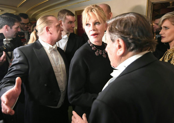 "AFP/""Scanpix"" nuotr./Melanie Griffith"