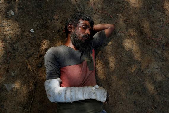 """""""Reuters""""/""""Scanpix"""" nuotr./Rohinjai, patyrę smurtą ir kankinimus Mianmare"""