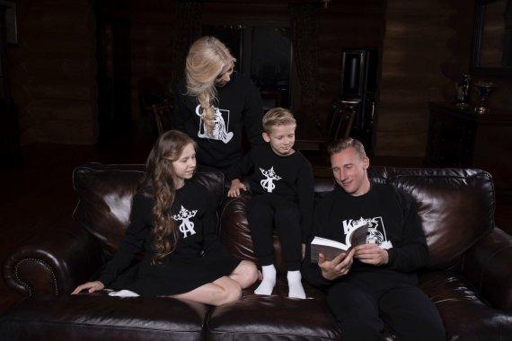 Dariaus Kučio nuotr./Inga Stumbrienė ir Aivaras Stumbras su vaikais