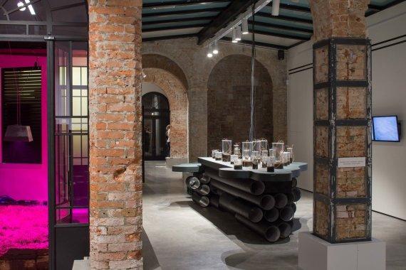 Norbert Tukaj nuotr./Lietuvos paviljonas Venecijos architektūros bienalėje