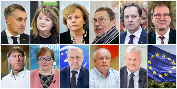 15min nuotr./Europarlamentarai