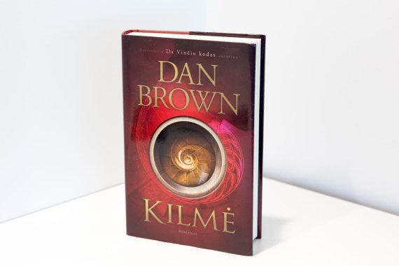 """Luko Balandžio / 15min nuotr./Dano Browno romanas """"Kilmė"""""""