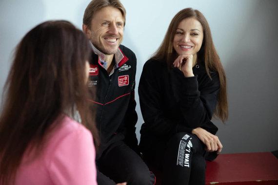 TV3 nuotr./Povilas Vanagas ir Margarita Drobiazko