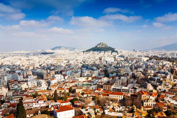 123rf.com nuotr./Atėnų panorama