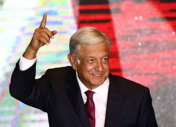 """Reuters""/""Scanpix"" nuotr./Andresas Manuelis Lopezas Obradoras"