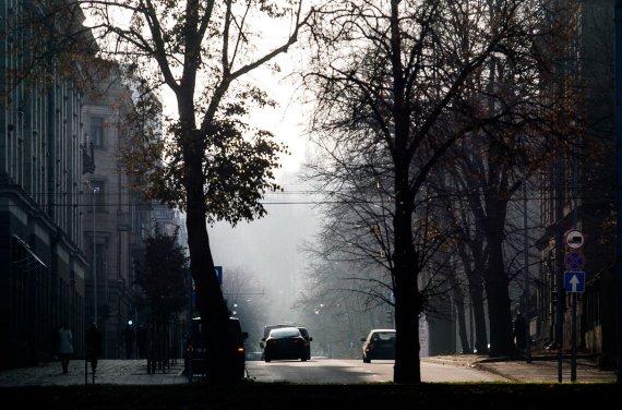 Irmanto Gelūno / 15min nuotr./Vilnius paniręs į smogą