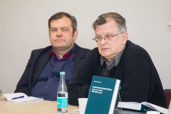 Žygimanto Gedvilos / 15min nuotr./Vlado Sirutavičiaus knygos pristatymas