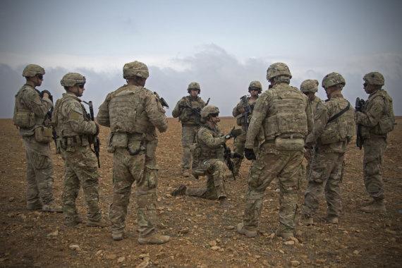 """""""Scanpix""""/AP nuotr./JAV kariai Sirijoje"""
