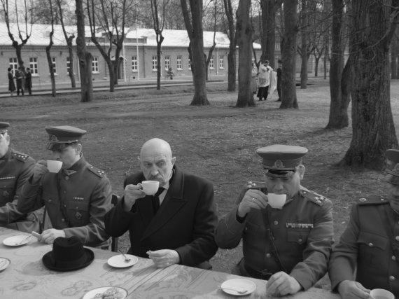 """Kadras iš filmo/""""Nova Lituania"""""""