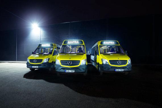 """""""Kautra"""" nuotr./""""Kautra"""" maršrutiniai taksi"""
