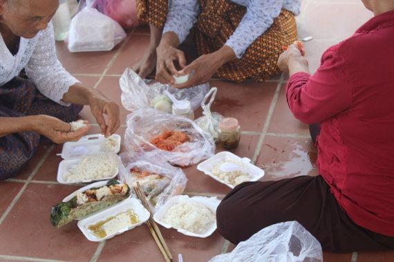 R.Šulcienės nuotr./Maistas Kambodžoje