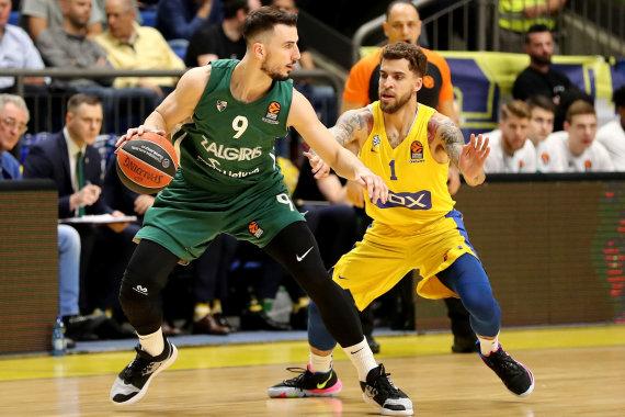 "nuotr. ""Getty Images""/euroleague.net/Tel Avivo ""Maccabi"" – Kauno ""Žalgiris"""