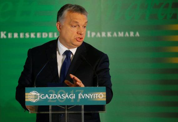 """""""Reuters""""/""""Scanpix"""" nuotr./Viktoras Orbanas"""
