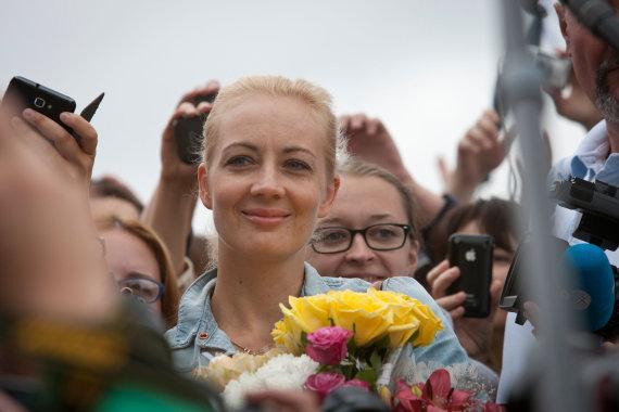 Vida Press nuotr./Julija Navalnaja