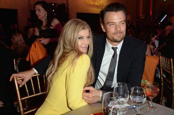 """AFP/""""Scanpix"""" nuotr./Fergie ir Joshas Duhamelis švenčia penktąsias santuokos metines"""