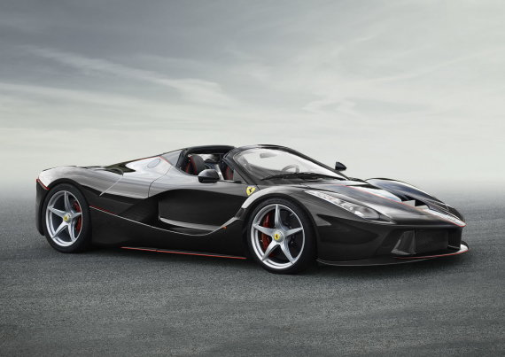 """""""Ferrari LaFerrari"""" kabrioletas"""