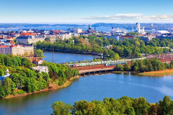 123RF.com nuotr./Helsinkis iš paukščio skrydžio