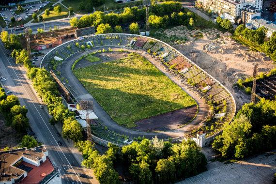 Vidmanto Balkūno / 15min nuotr./Vilniaus Žalgirio futbolo stadionas
