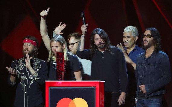 """""""Reuters""""/""""Scanpix"""" nuotr./""""Foo Fighters"""""""